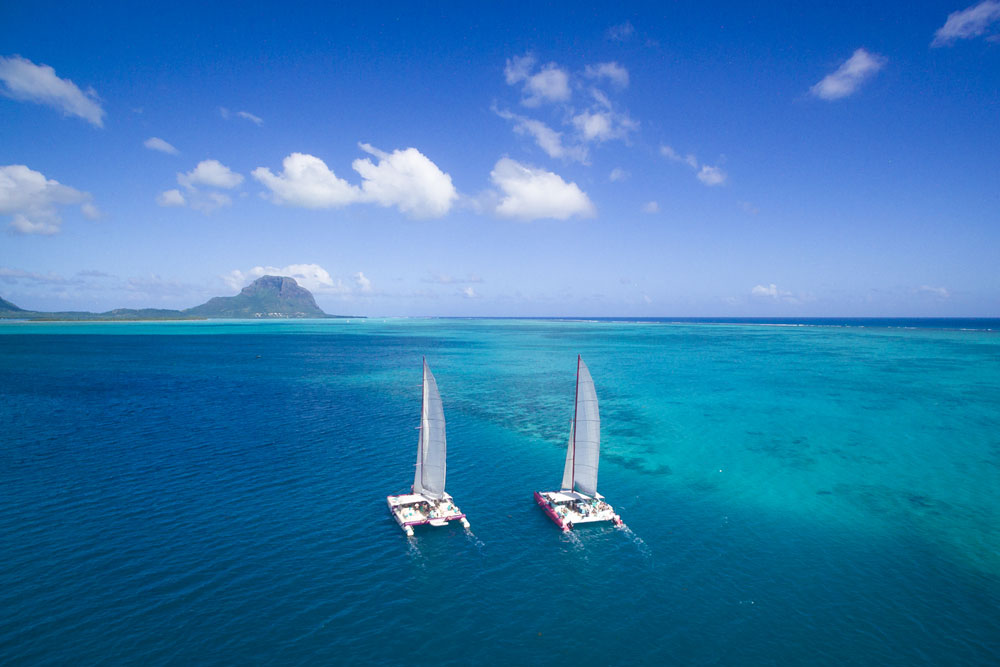 Top of the 5 best nautical activities in Mauritius