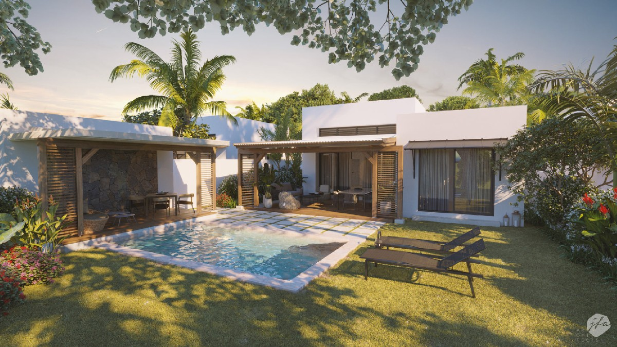 PDS Villa accessible to foreigners - Haute Rive