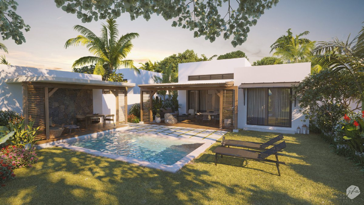 PDS Villa accessible to foreigners - Roches Noires