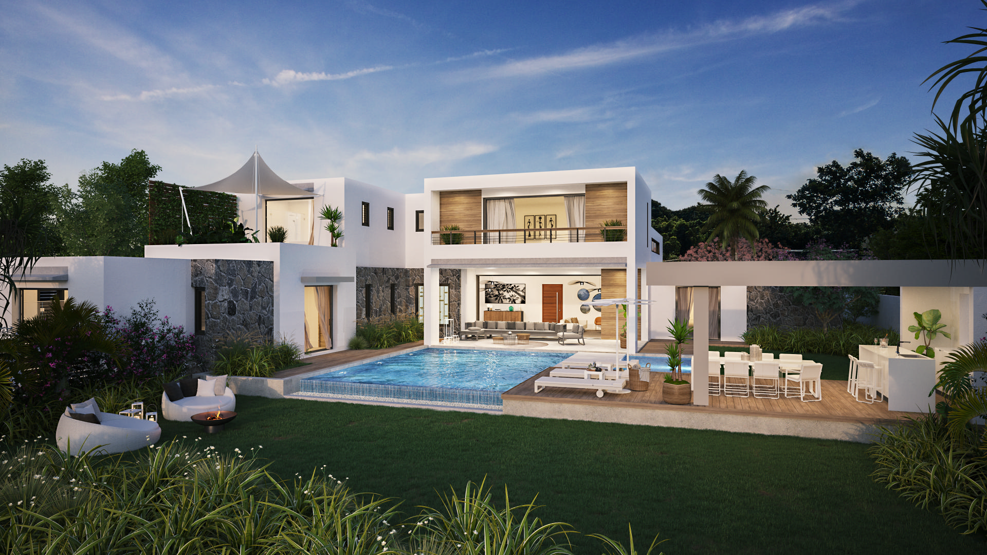 PDS Villa accessible to foreigners - Petit Raffray