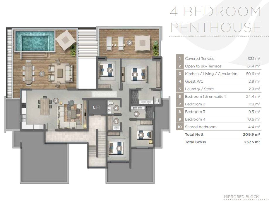 Penthouse PDS - St Antoine Phase 2
