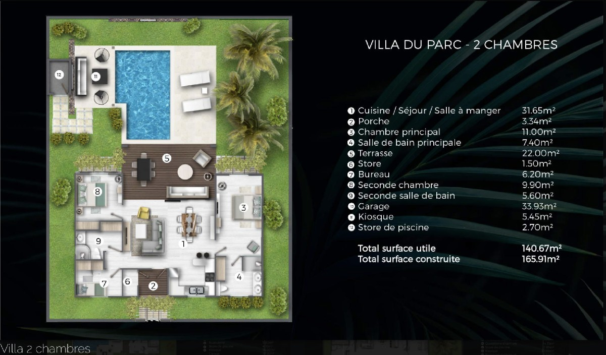 PDS Villa accessible to foreigners - Cap Malheureux