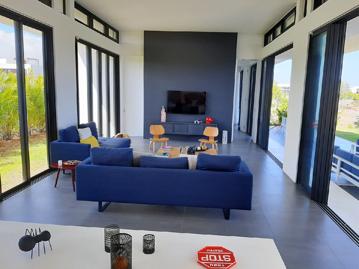 Villa / appartement contemporains en Résidences - Mont Choisy