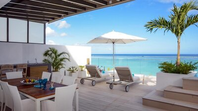 Holiday rental Beachfront Penthouses and Apartments - Flic en Flac