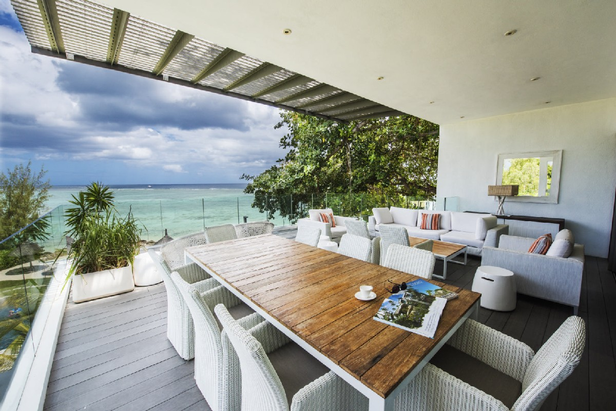 Beachfront Penthouses and Apartments - Tamarin