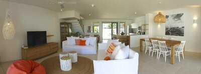 Holiday rental Charming beachfront villa - Grand Bay