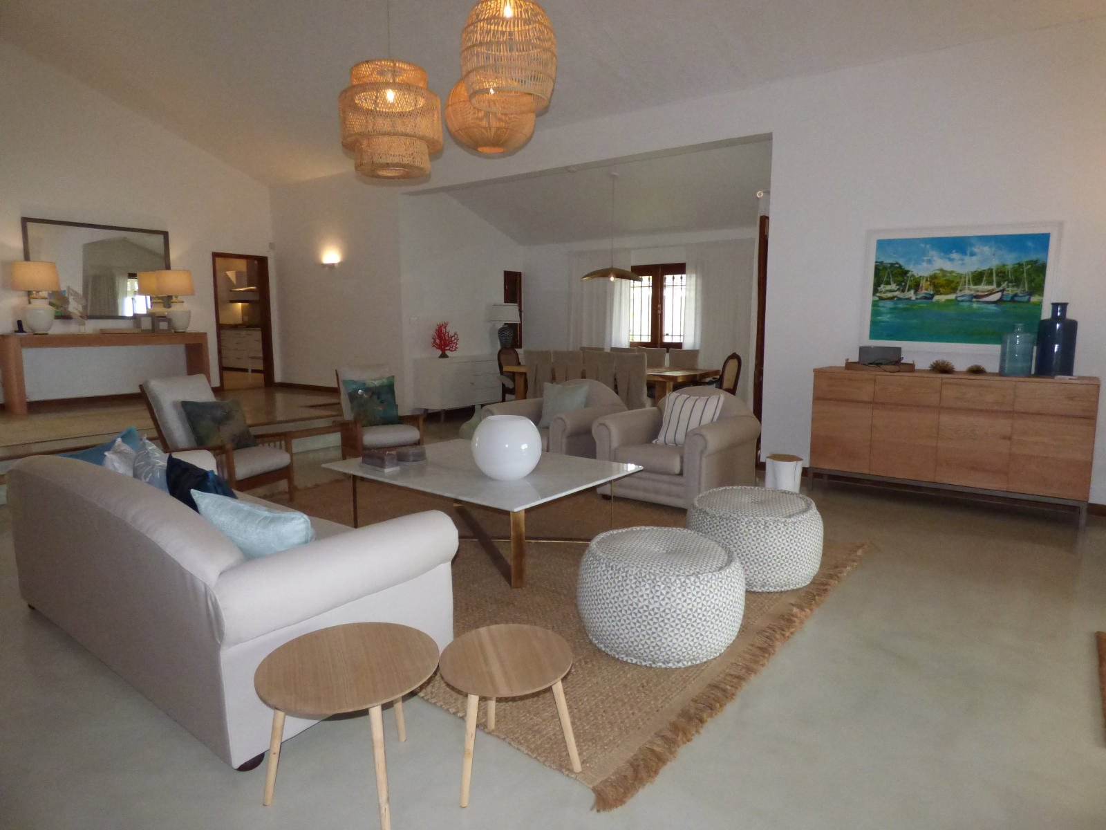 Luxury beachfront villa - Roches Noires