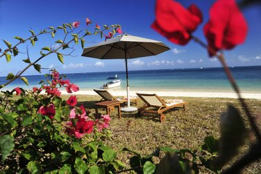 Holiday rental Charming beachfront villa - Mont Choisy
